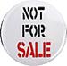 """Badge de la campagne : """"pas à vendre"""" © LEF"""