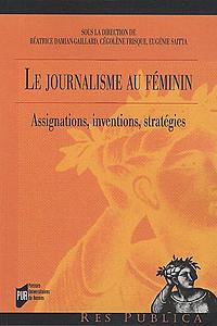 Couverture « Le journalisme au féminin »