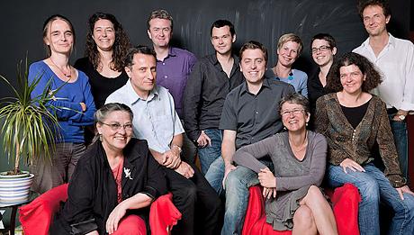 Le comité d'administration de Coopaname © Jérémie Wach-Chastel