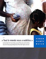 Couverture du rapport d'HRW