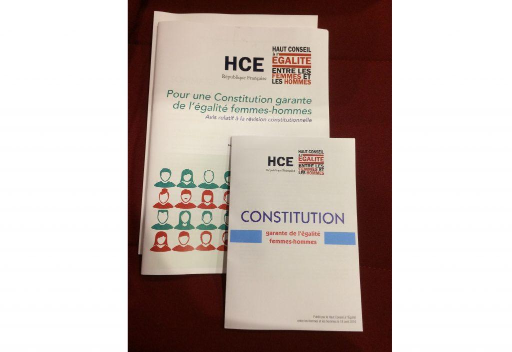 Le Haut Conseil à l'Egalité présente son projet de Constitution égalitaire - 50